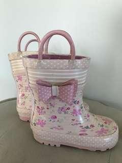 Joe Fresh Pink Boots