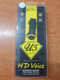 335.Ume U5 bluetootb headset.