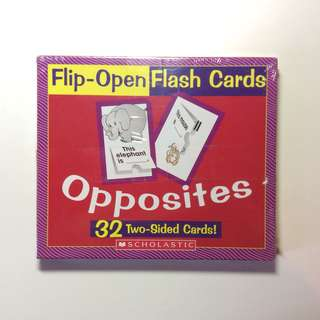 Flip Open Flash Cards