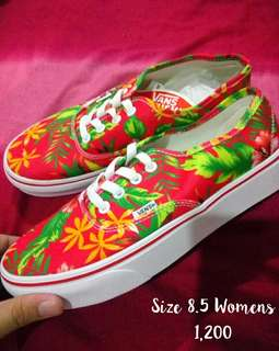 Authentic Vans Size 8.5