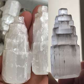 Mini cute selenite 6cm tall