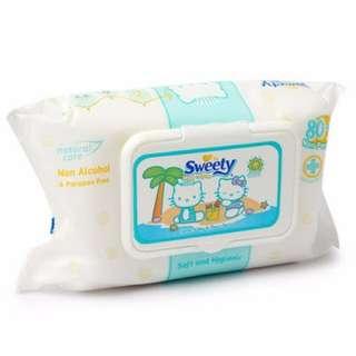 Sweety Baby Wipes (tissue basah baby)