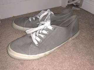 Casual grey shoes