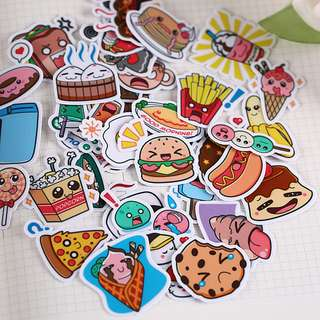 (PO) Kawaii Food Stickers