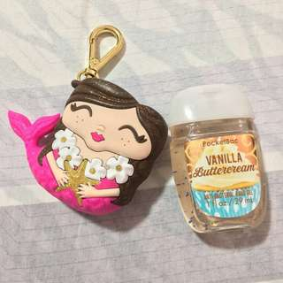 Bath and Body Works Pink Mermaid Pocketbac Holder