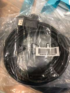 Display port cable 1.8m