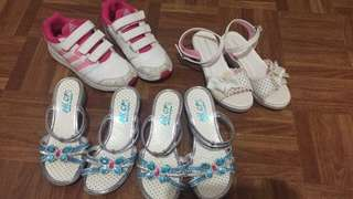 Shies and sandals for kids