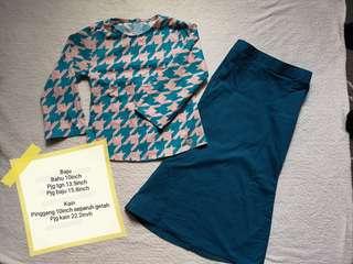 Baju Kurung Modern untuk budak