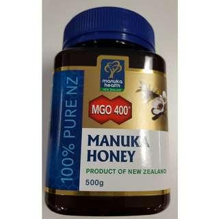 蜜紐康麥蘆卡蜜糖MGO 400+Manuka Honey 500 g