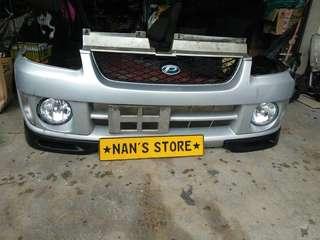 Subaru pleo front bumper for Kelisa kancil