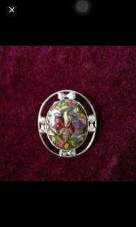 Victorian Rose Clipper Brooch