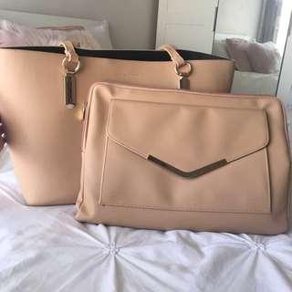 Nude Laptop Bag