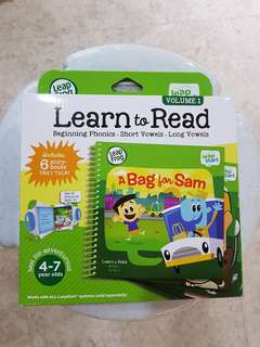 Leapstart learn to read Volume 1