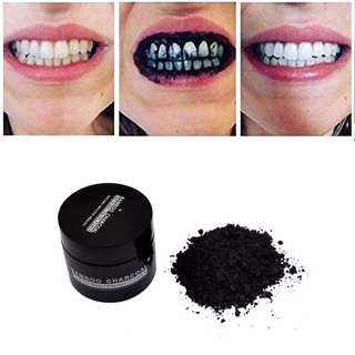 Fashion Shine Tooth Powder Whitening Dental Cleaning Bamboo Charcoal Activated