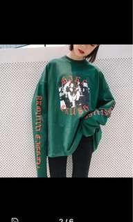 Korean Ulzzang Harajuku Long Sleeve Pullover Sweater