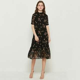 RCCZG051715 - Sweet Floral Maxi Dress