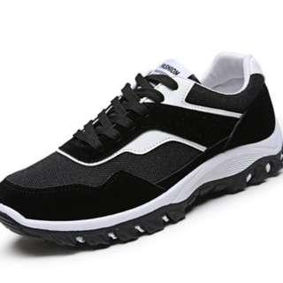 休閒運動鞋 潮流韓版跑步鞋 耐磨防滑旅遊鞋