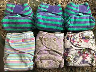 Cloth Diaper twinkie tush and totsbots