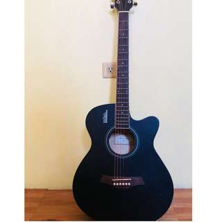 Acoustic guitar- rosen brand matt black