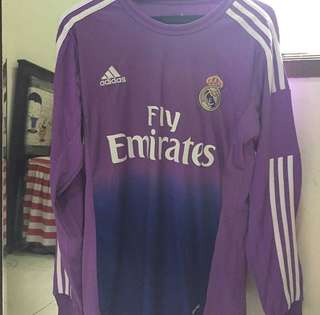 JERSEY REAL MADRID LS SIZE M
