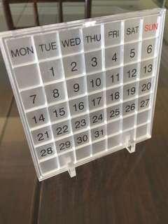 Muji Calendar