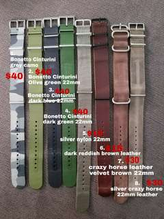 22mm Watch Straps for sale