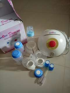 Spectra electric breast pump