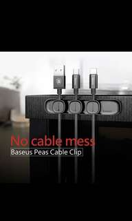 Baseus peas cable clip