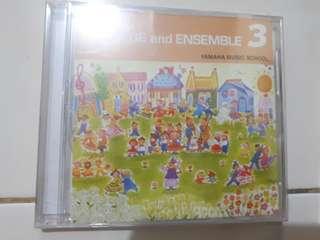 buku dan cd yamaha piano repertoire 3
