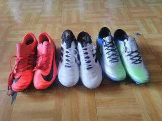 Nike and adidas copa soccer cleats spikes soccer football shoes