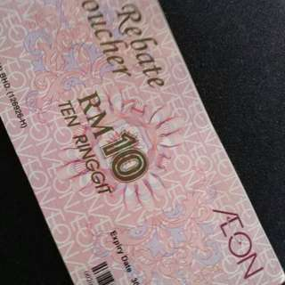 AEON VOUCHER FOR SALE RM 2K FOR RM 1.8K