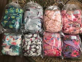 Cloth Diaper Twinkie Tush, Binky D, Bumpy Bums, Grovia, fiffy