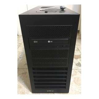 Q8400 RAM 4G SSD 60G N210 黑武士 80+銅牌 聯力鋁合金
