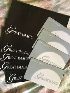 Great image Gift Cards P500 each