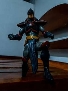 Marvel Legends Black Knight ( old version ) and Spectacular Spider-man Symbiote Spider-man