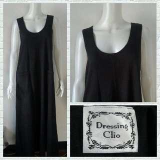 Plus Size Dressing Clio Black Maxi Dress