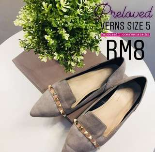 Verns Flat Shoes size 5(36)