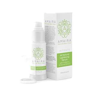 Intimate All Natural Lightening Serum - Skin Whitening Cream for Body, Face, Neck, Bikini and Sensitive Area Skin Brightening for Hyperpigmentation Treatment by Amaira 30ml