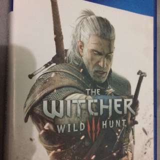 The witcher 3, complete manual and map ect