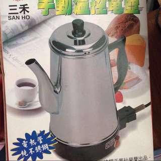 SH-999 手動溫控電壺 三禾 茶壺 咖啡壺