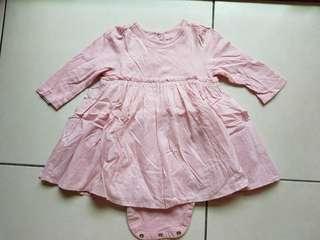 🚚 Baby Gap 二手春秋季女嬰洋裝