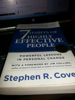 7 habits of Higly effective people