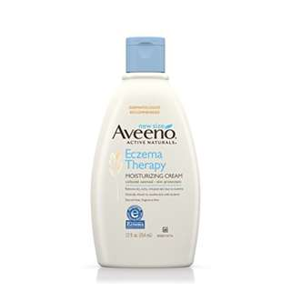 Aveeno Eczema Therapy Moisturizing Cream Relieves Irritated Skin, 12 Oz
