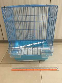 Fixed price small bird cage seldom use finch puteh lovebird condition 8/10
