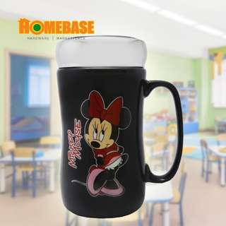 HOMEbase Crystal Ceramic Cup Set - Cute Mouse 300ML