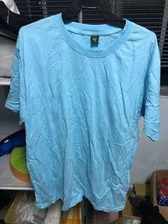 短袖上衣藍色 全新