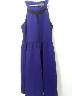 Violet Forever21 Halter Dress