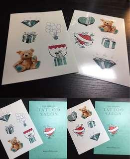 Tiffany tatto 印水紙 (包郵)