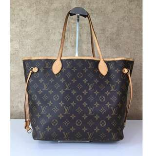 LOUIS VUITTON M40156 NEVERFULL MM MONOGRAM TOTE BAG