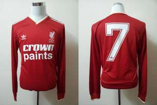 Authentic Liverpool FC 85/87 Kenny Dalglish Jersey